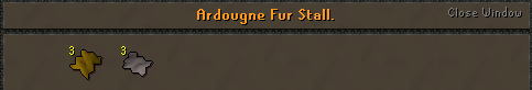Zybez RuneScape Help's Screenshot of the Fur Stall