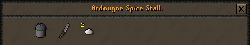 Zybez RuneScape Help's Screenshot of The Spice Stall