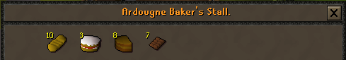 Zybez RuneScape Help's Screenshot of the Baker's Stall