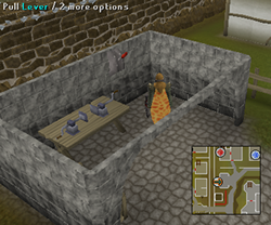 Zybez RuneScape Help's Screenshot of the Wilderness Teleport Lever