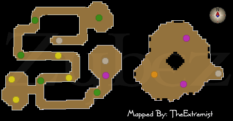 how to get to upper level of taverley dungeon osrs