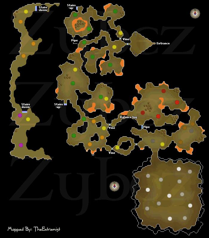 Brimhaven Dungeon - Runescape Dungeon Maps - Old School ...