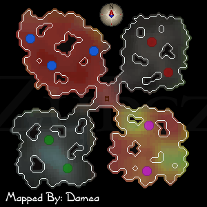 Zybez RuneScape Help Crevice Cave Dungeon Map
