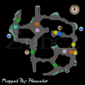 Zybez RuneScape Help's Dorgesh-Kaan South Dungeon Map