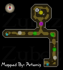 Zybez RuneScape Help Draynor Sewers Map
