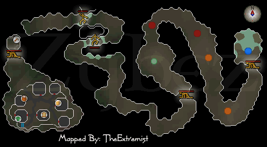 Zybez RuneScape Help's Miscellania Dungeon Map