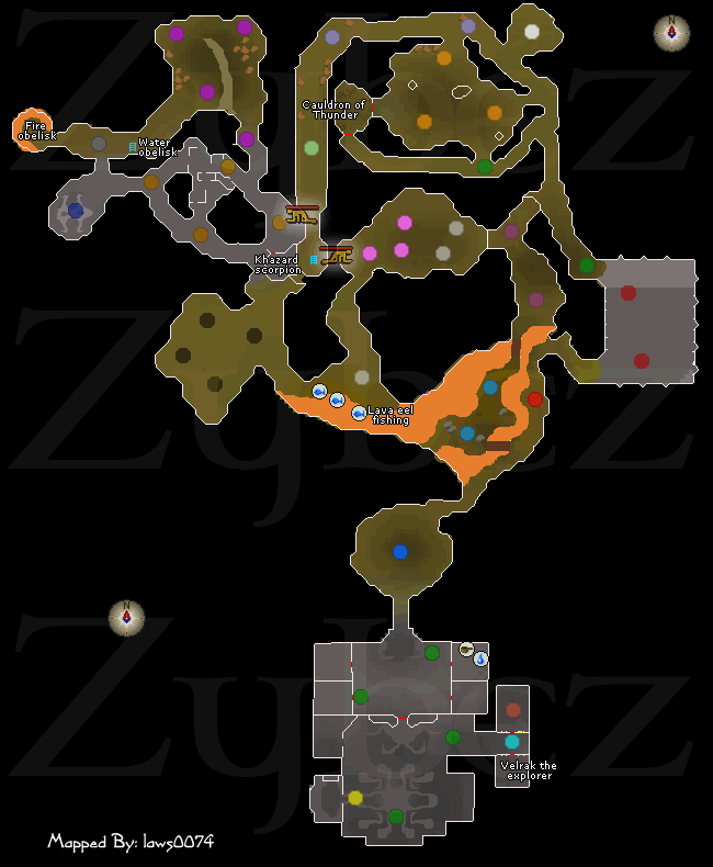 Taverly Dungeon Map Taverley Dungeon   Runescape Dungeon Maps   Old School RuneScape Help Taverly Dungeon Map