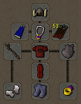 Zybez RuneScape Help's image of what armour to wear to The Barrows