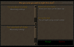 Zybez RuneScape Help's Screenshot of the Rule Confirmation Screen