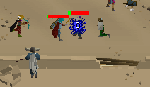 Zybez RuneScape Help's View of the Duel Arena