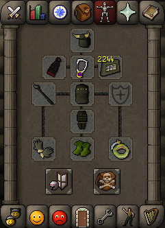 Zybez RuneScape Help's Equipment Suggestion