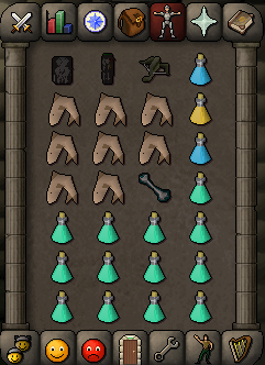 Zybez RuneScape Help's Inventory Suggestion