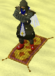 Zybez RuneScape Help's Screenshot of Riding a Magic Carpet