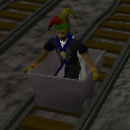 Zybez RuneScape Help's Screenshot of Riding a Cart
