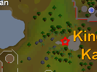 Zybez RuneScape Help's Screenshot of Where to Start the Mini Quest