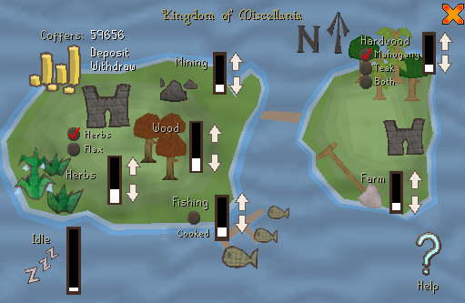 Zybez RuneScape Help's Screenshot of the Coffers
