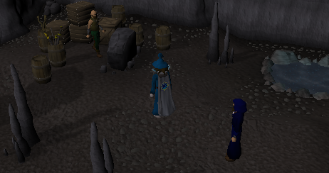 Zybez RuneScape Help's Mage Arena Bank Screenshot