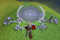 Zybez RuneScape Help's Picture of Blue Portal Shielded