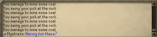 Zybez RuneScape Help's Screenshot of a Player Mod Talking in the Chat Box