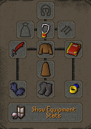 Zybez RuneScape Help's Level 1 Defence Pure Inventory Menu