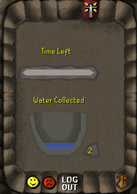 Zybez RuneScape Help's Screenshot of the Tear Collection Menu