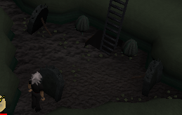 Zybez RuneScape Help's Image Showing How to Destroy the Barricades
