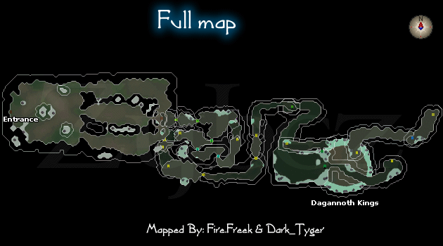 Waterbirth Island Dungeon  Map