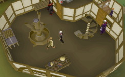 Zybez RuneScape Help Map of the Cooks' Guild First Floor