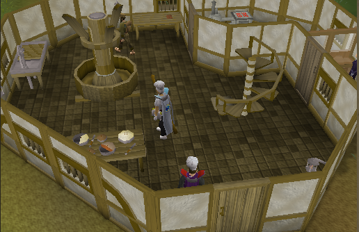 Zybez RuneScape Help Map of the Cooks' Guild Ground Floor