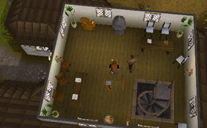 Zybez RuneScape Help's Crafting Guild top floor screenshot