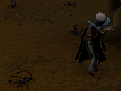 Zybez RuneScape Help's Legends Guild Dungeon Pit Scorpion Screenshot