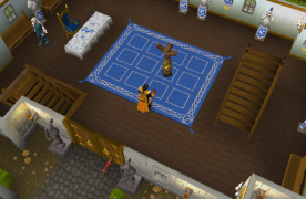 Zybez RuneScape Help's Legends Guild Ground Floor Screenshot