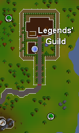Zybez RuneScape Help Legends Guild Map