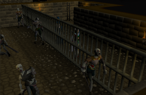 Zybez RuneScape Help's Screenshot of the Magic Guild Basement