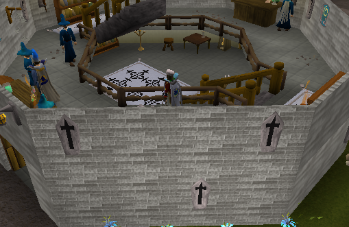 Zybez RuneScape Help's Screenshot of the Magic Guild First Floor
