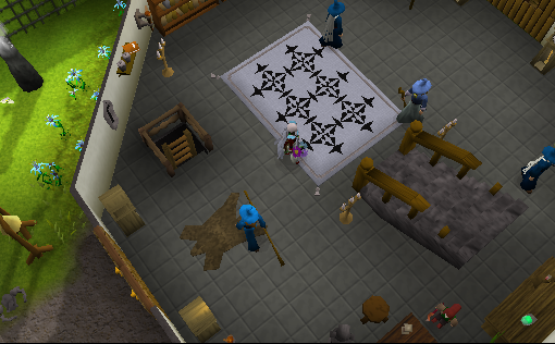 Zybez RuneScape Help's Screenshot of the Magic Guild Ground Floor