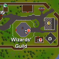 Zybez RuneScape Help's Magic Guild Map