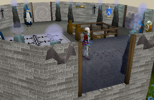 Zybez RuneScape Help's Screenshot of the Magic Guild Third Floor