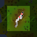 Zybez RuneScape Help's Map of the South Taverley Mine