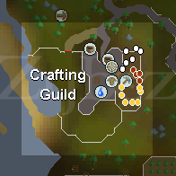 Zybez RuneScape Help Crafting Guild Mine Map