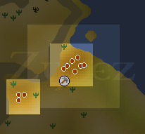 Zybez RuneScape Help Elidinis Clay Mine Map
