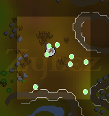 Zybez RuneScape Help's Map of the Isafdar Limestone Mine