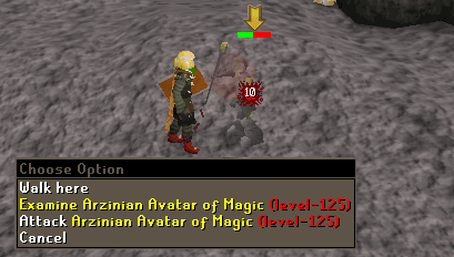 Zybez RuneScape Help's Screenshot of Avatar of Magic