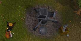 Zybez RuneScape Help's Image of the Broken Cannon