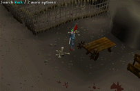 Zybez RuneScape Help's Screenshot of Searching the Rack