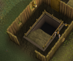 Zybez RuneScape Help's Image of the Dwarf tunnel