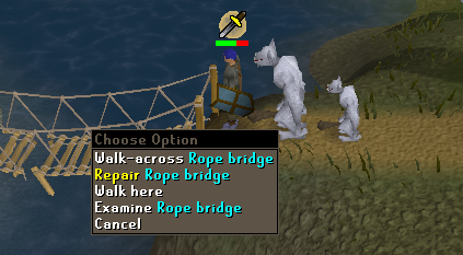 Zybez RuneScape Help's Screenshot of the Broken Bridge