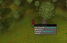 Zybez RuneScape Help's Screenshot of a Swaying Tree