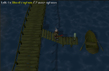 Zybez RuneScape Help's Screenshot of the Ghost Captain