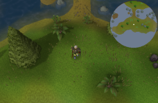 Zybez RuneScape Help's Screenshot of the Place to Dig